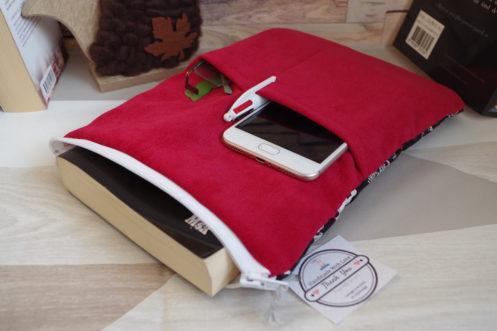 pochette livre tablette